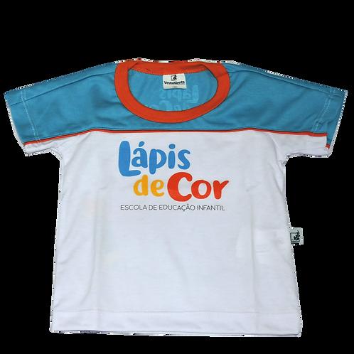 Camisa C/Manga Lápis de Cor