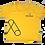 Thumbnail: Camisa C/Manga Amarela Alphabetz