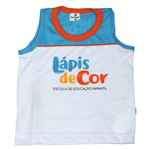 Camisa S/Manga Lápis de Cor