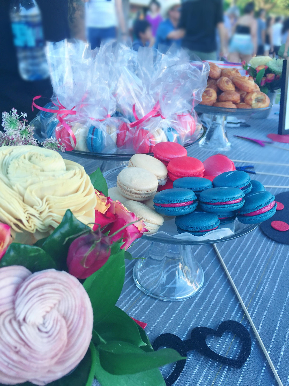 The King Florist flowers and our yummy treats were a big hit!