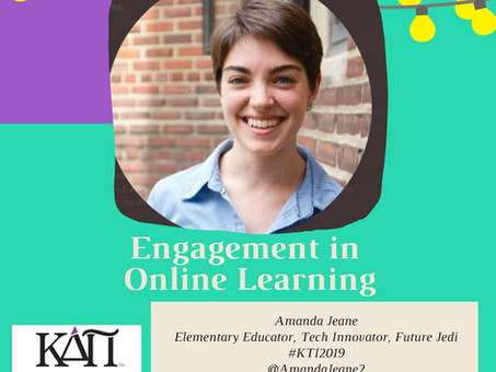 Engaging students online featuring Amanda Jeane