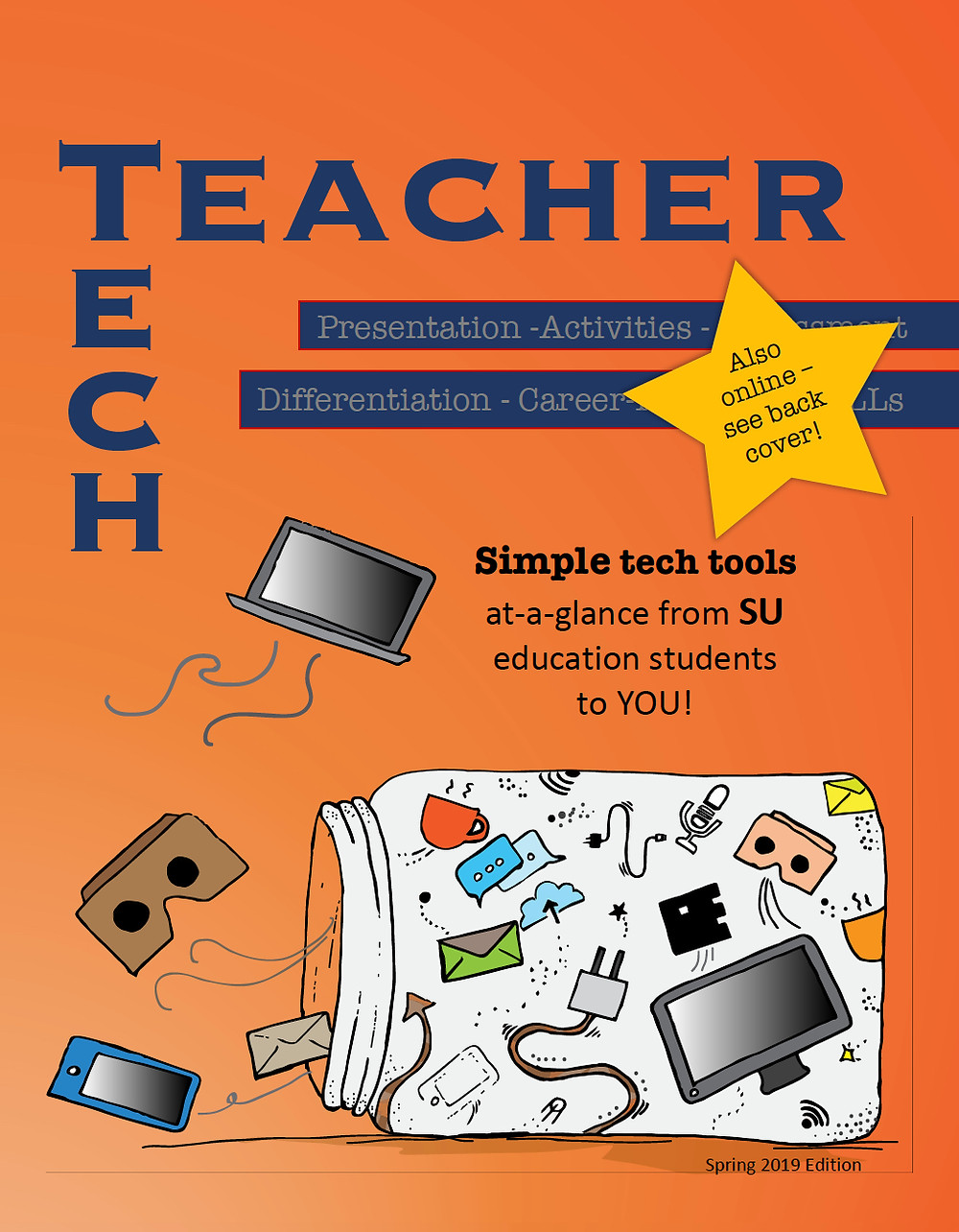 Tech Teacher handbook created by preservice teachers