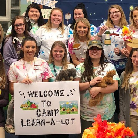 Come Learn S'more at Camp Learn-A-Lot
