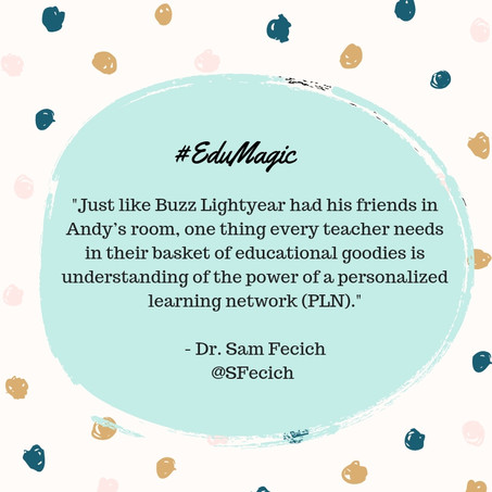 3 reasons why a PLN is important for a preservice teacher