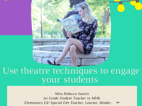 Use theatre techniques to engage your students