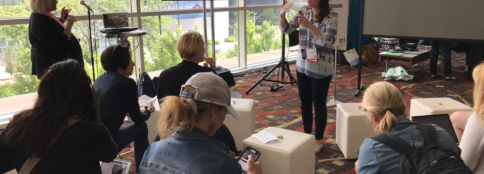 Presenting at ISTE 2018