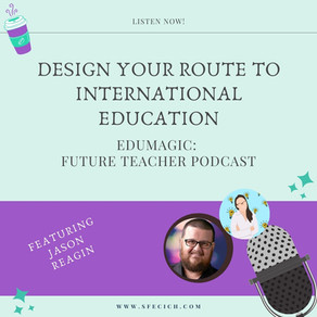 Design your route to international education with Jason Reagin