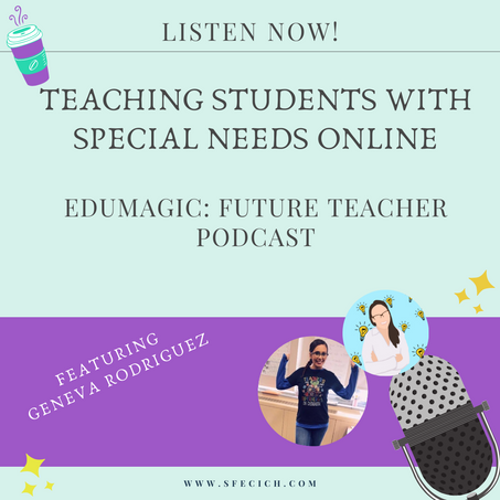 Teaching students with disabilities online featuring Geneva Rodriguez