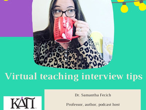 Virtual teaching interview tips