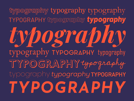 5 Tipografías utilizadas por el diseñador gráfico