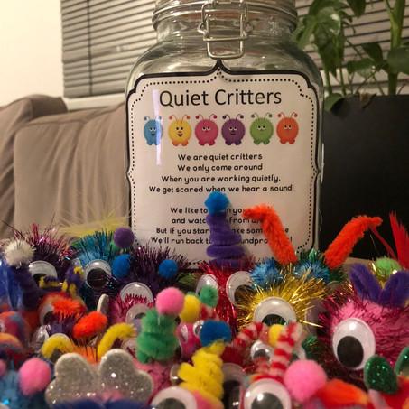 Shhh! Quiet critters!