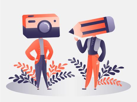 ¿Fotografía o ilustración? Lo mejor para tus contenidos