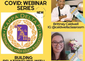 Building relationships in the virtual space featuring Brittney Caldwell