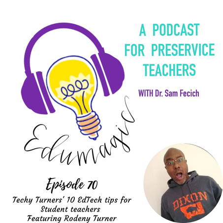 Techy Turners' 10 EdTech tips for Student teachers