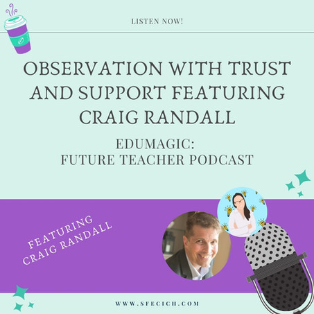 Observation with trust and support featuring Craig Randall
