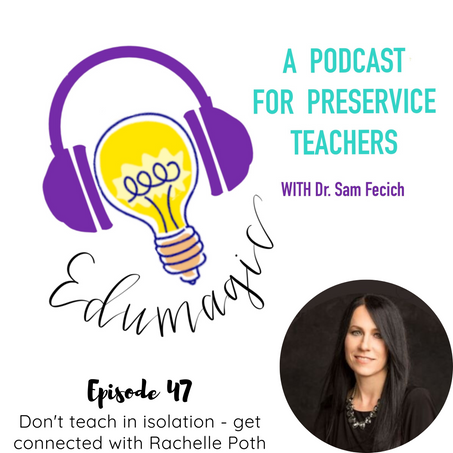 Don't teach in isolation - get connected with Rachelle Poth
