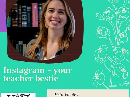 Instagram your new teacher bestie!