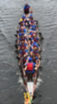 Paradise City Dragon Boat racing in Boston, June 2017