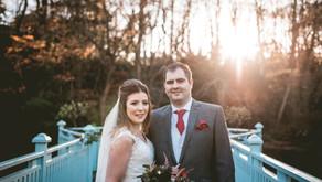 Winter wedding at Whitley Hall // Natalie + Jason