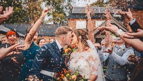 Autumn Wedding at Donington Park Farmhouse