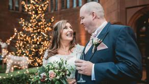Festive wedding at Abbey House, Lake District // Lisa + Martin
