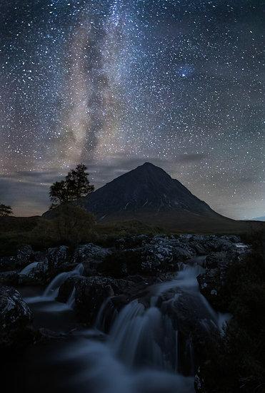 Buachaille Etive Mòr - Milky Way