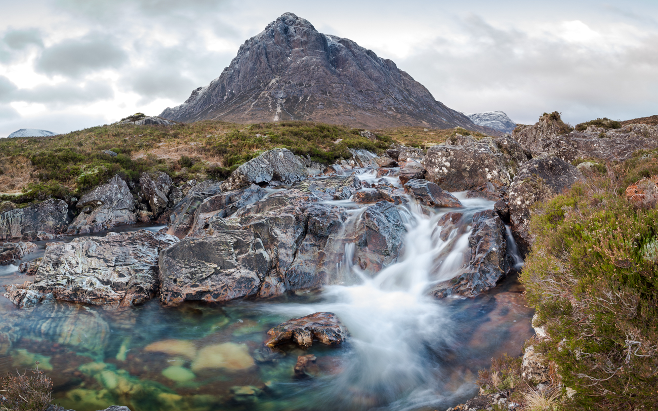 Buachillie Etive Mor waterfall