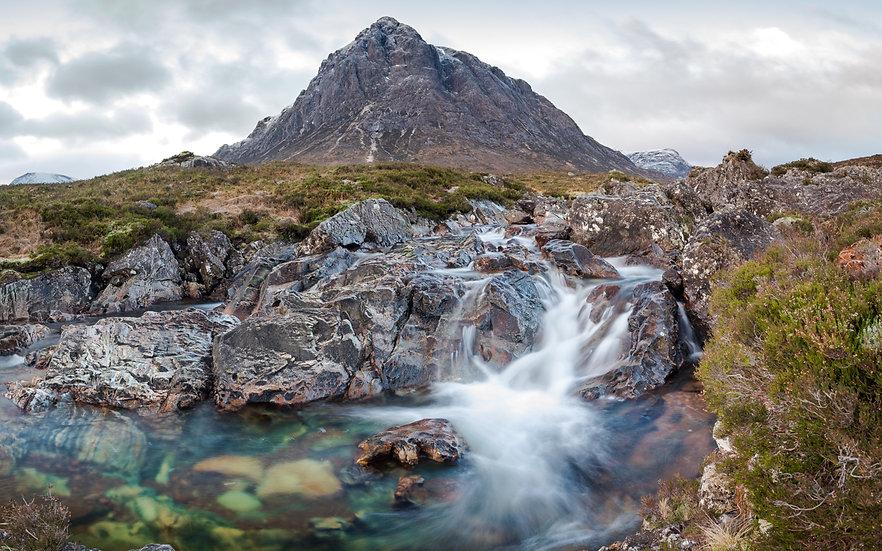 Buachaille Etive Mòr Waterfall | Glencoe