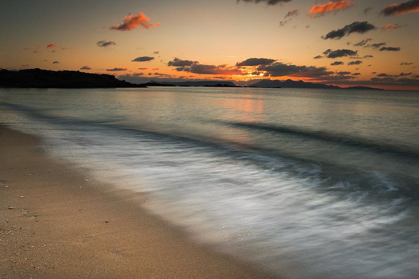 Waves Camusdarach beach | Arisaig
