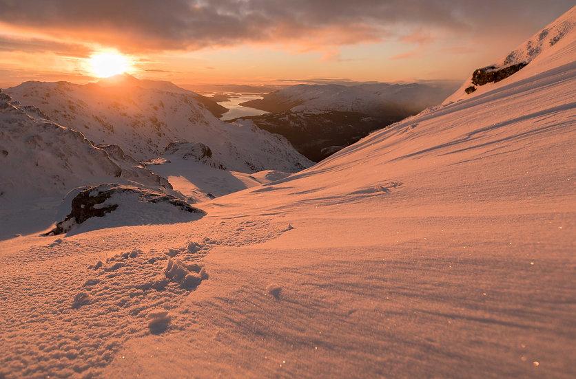 Sunrise Ben Vorlich summit
