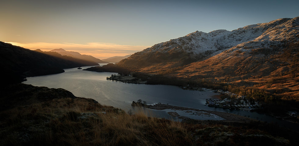 Sunrise from the north | Loch Lomond