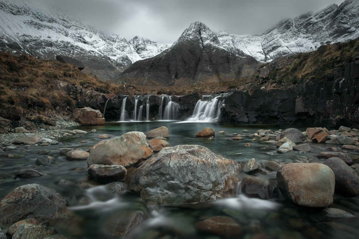 The Fairy Pools winter Isle of Skye