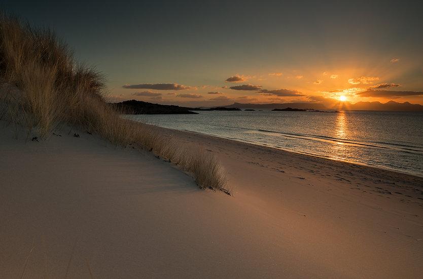 Camusdarach beach sunset | Arisaig