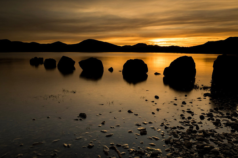 Milarrochy bay rocks