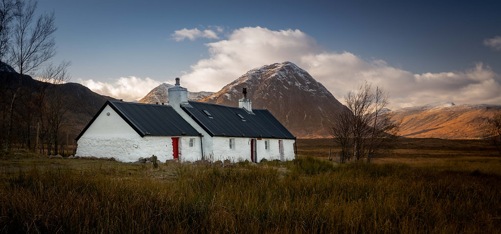 Black rock cottage   Glencoe