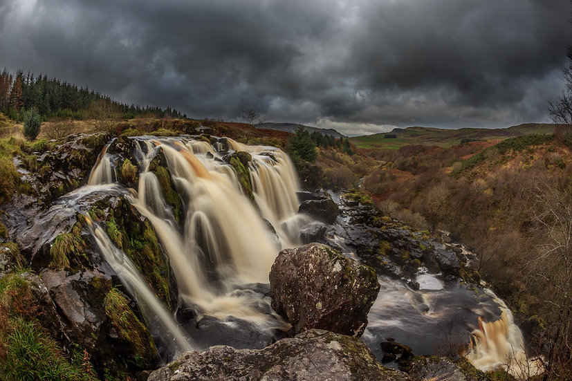 Loup of Fintry - Waterfall