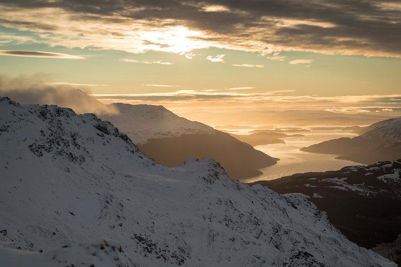 Sunrise from Ben Vorlich | Loch Lomond 2