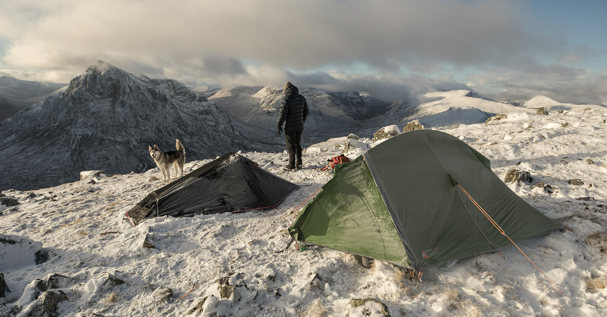 Summit camping | Glencoe
