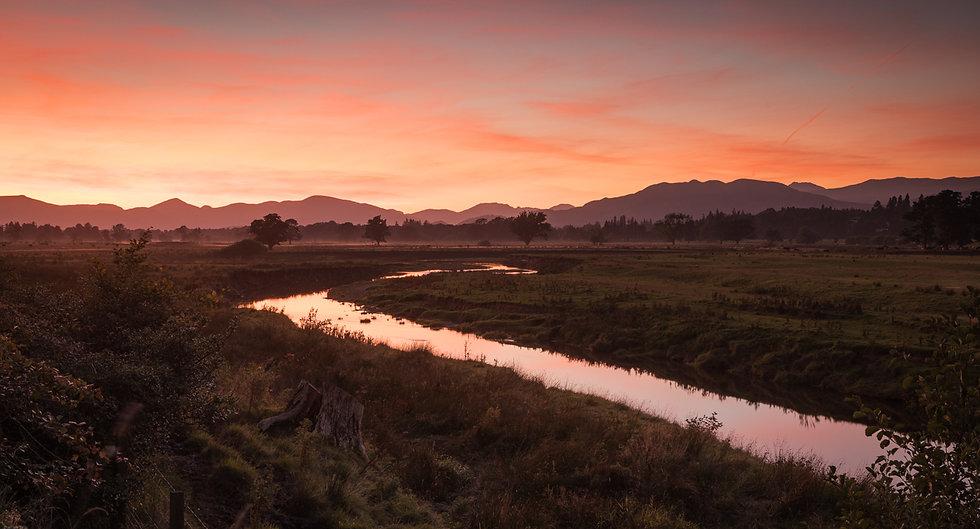 Drymen showfield sunset