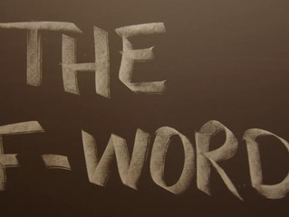 """The """"F"""" Word – 3 Beliefs About Failure That Can Be Holding You Back"""