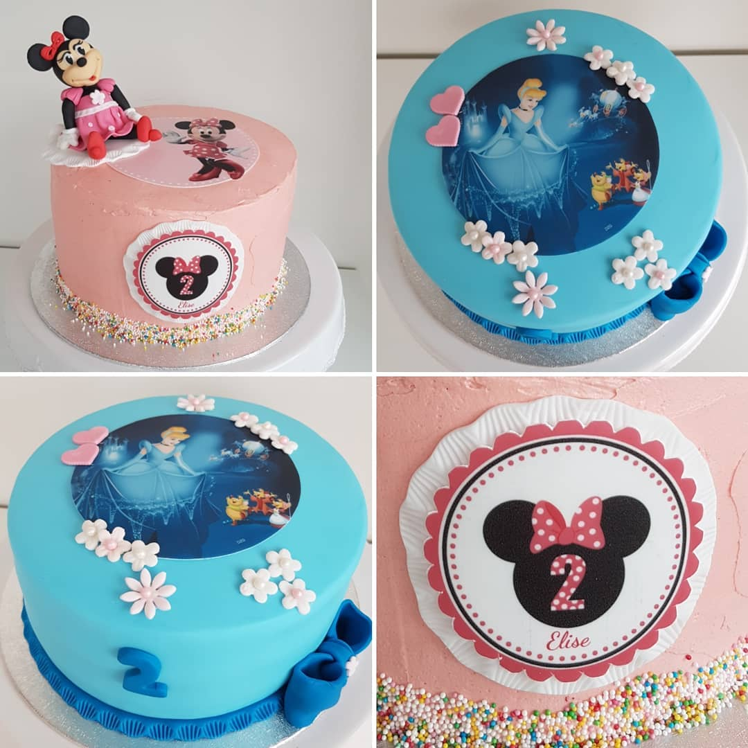 foodprint minnie mouse taart