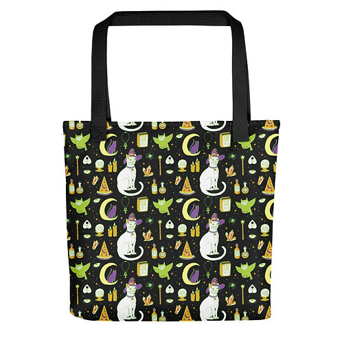 Mystical Cats Tote bag