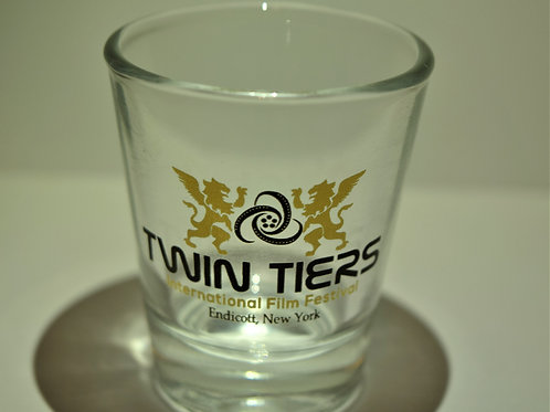 Twin Tiers Shot Glass