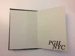 PGH > NYC, title page