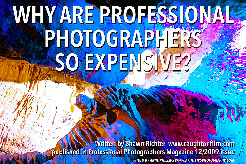 Why are Professional Photographers So Expensive?