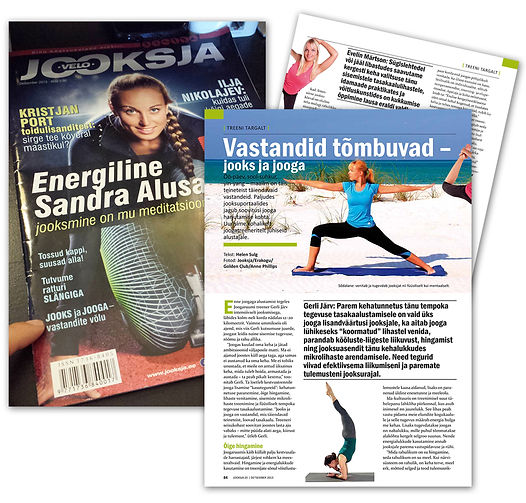 Estonia Runners Magazine | Ajakiri Jooksja | Anne Phillips