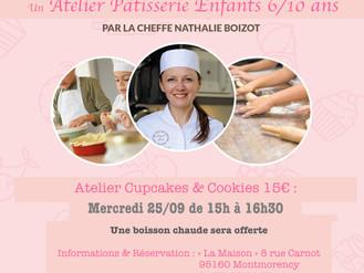 25 Septembre 🧁 Atelier Pâtisserie 🧁