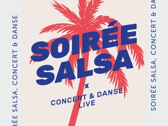 """17 Mars. ♪ Soirée Salsa"""" ♪"""