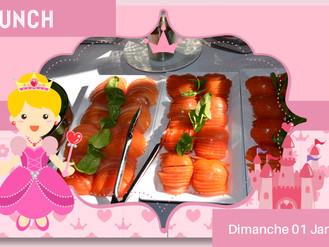 01 Jan. ☆ BRUNCH DU DIMANCHE ☆