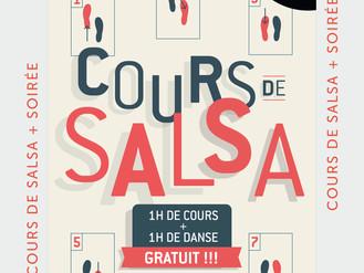 17 Jan. ** Cours de Salsa **